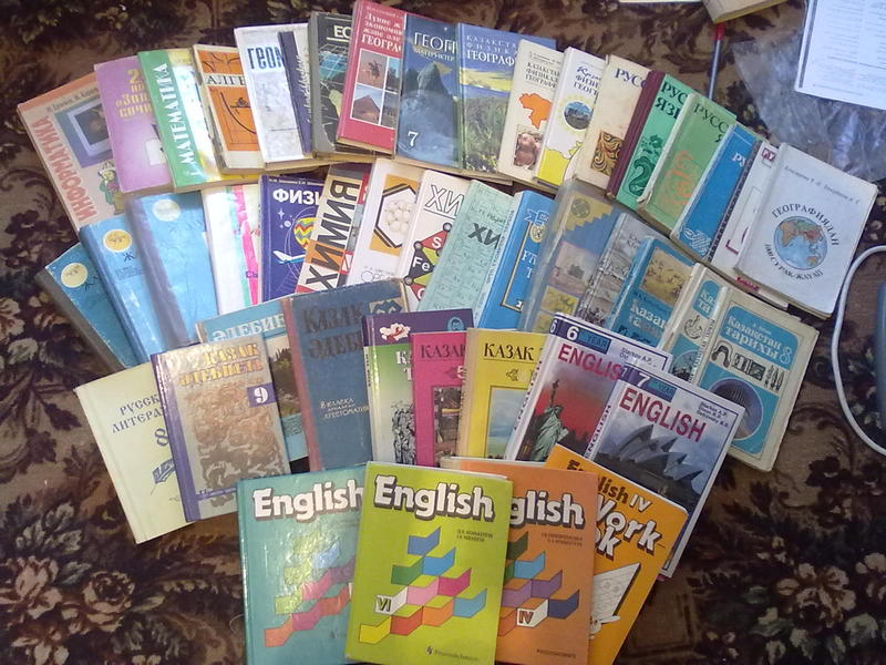 В караганде купить школьные учебники можно будет 27 августа.