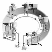 Универсальные комплексы оборудования для производства круп и муки