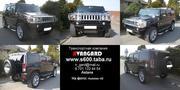 Аренда автомобиля Hummer H2 черного цвета для любых мероприятий.
