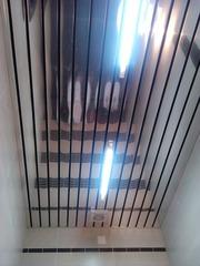 Монтаж подвесных потолков;  Armstrong ,  Люкс-салон ,  Грильято.