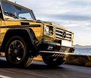 Аренда для мероприятия лимузина Mercedes-Benz Gelandewagen белого цвет
