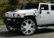Аренда на свадьбу лимузина Hummer H2 белого,  черного цвета.