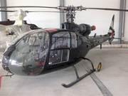 Пятиместный газотурбинный вертолет французского легиона.
