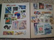 Почтовые марки 40-х - 90-х годов