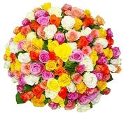 Букеты из свежих цветов с бесплатной доставкой