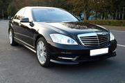 Самый крутой кортеж из черных и белых Mercedes-Benz S-Class W 221 Long