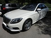 Самый крутой кортеж из черных и белых Mercedes-Benz S-Class W222 Long