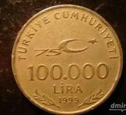 100.000 LIRA,  1999