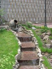 Полив газон растения благоустройство