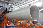 Стеклопластиковые трубы и фасонные части. Диаметры от 300 до 3000 мм.