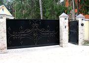 Ворота,  заборы,  решетки и ограждения и прочие изделия из металла в Аст