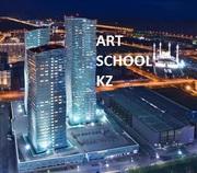 курсы рисования ИЗО в Астане ART SCHOOL KZ