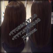 наращивание волос астана