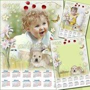 Календарь на заказ с Вашим фото в Астане