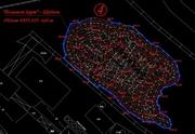 Замер и расчет объема насыпей (буртов) инертных материалов,  карьеров