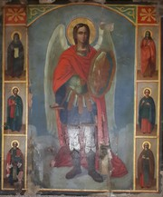 Икона Архангел Михаил,  46х54 см