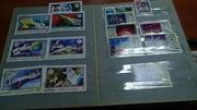 продам коллекционный альбом почтовых марок разных годов и стран