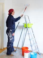 Малярные услуги. Покраска стен в Астане