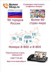 Многоканальные телефонные виртуальные номера