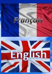 Английский,  французский