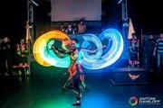 Лазерное шоу Астана
