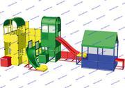 R-KIDS: Детская игровая площадка KDP-007