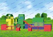 R-KIDS: Детская игровая площадка KDP-008