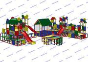 R-KIDS: Детская игровая площадка KDP-009