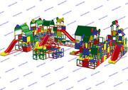 R-KIDS: Детская игровая площадка KDP-010