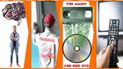 Перезапись видеокассет. Аппаратное улучшение качества,  монтаж и доставка БЕСПЛАТНО!!!