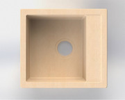 Продам кухонную мойку kvadra из искусственного камня