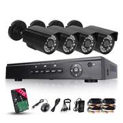 Видеокамера AvTech KPC-172 набор 3 шт + блок управления и диск жесткий