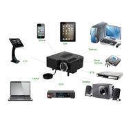Портативный проектор для просмотра видео и фото,  игр