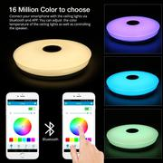 Потолочный музыкальный Bluetooth RGB светильник