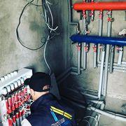 Монтаж отопления под ключ.