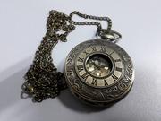 Карманные кварцевые часы на цепочке с крышкой/Отличный подарок/Скидки