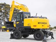 Экскаваторы на колёсном ходу Hyundai R180W-9S(в наличие)