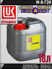 Моторное масло ЛУКОЙЛ ДИЗЕЛЬ М-8Г2к 18л Арт.:L-111 (Купить в Астане)