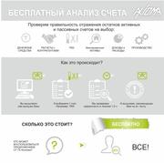 Анализ счета БЕСПЛАТНО