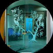 Паста и жидкость для матирования стекла GlassMat