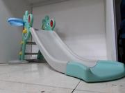 Детская игровая горка с корзиной/Игровой комплекс/Большая горка/Качели