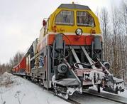 СМ-2 снегоуборочный поезд