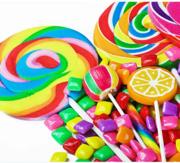 Распродажа конфет и кондитерских изделий.